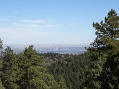 A look at Denver from afar.