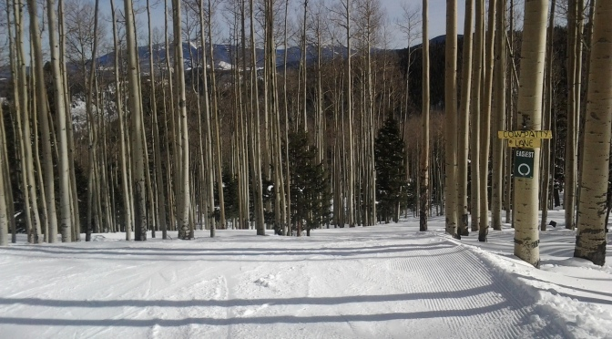 Skiing Red River, NM Feb 2 2013…