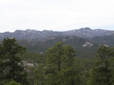 Looking across the Black Elk Wilderness from the Peter Norbeck Nat'l Scenic Byway