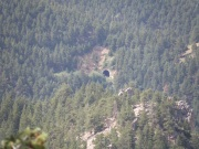 One of the tunnels of the Denver & Rio Grande Railroad