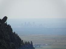 A hazy Mile High skyline