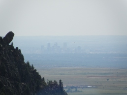 A hazy Mile High skyline