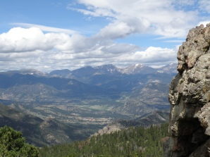 A look across towards the northwest