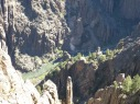 A look down at the Gunnison River