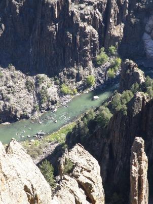 Gunnison River closer view