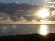 Early morning sunrise over the Atlantic Ocean
