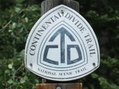 Continental Divide Trail signage