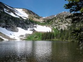 The first of the Crater Lakes.