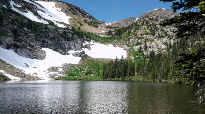 Hike to Crater Lakes, July 4th 2015…