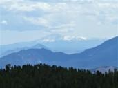 Zoom in on Pike's Peak