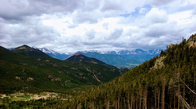 Hiking Twin Sisters Trail, June 17, 2017…