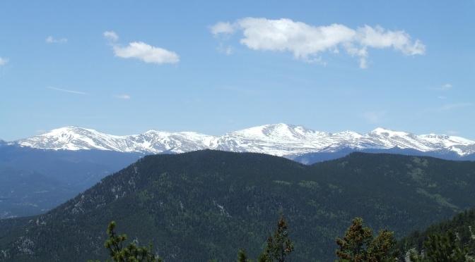 Hiking Bergen Peak Trail, Elk Meadow Park, June 4th, 2017…